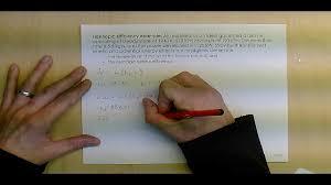 thermodynamics example 22 isentropic efficiency youtube