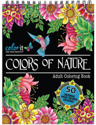 coloring books hardback covers spiral binding artist