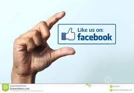 facebook like us icon stock photo 36274916 megapixl