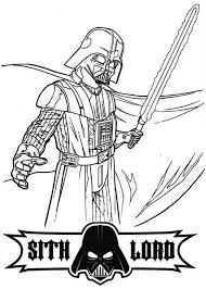 Free Darth Vader Coloring Pages For Kids Coloringstar Darth Vader Coloring Pages