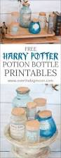 Printable Halloween Drink Labels by Harry Potter Potion Label Printables