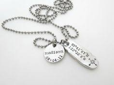 personalized mens necklaces personalized necklace fathers day gift personalized jewelry
