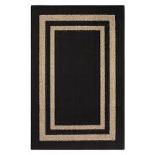 accent rug frame border black accent rug maples rugs
