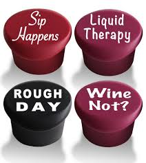 cool wine gifts 20 great gifts for wine wine stoppers wine and bottle