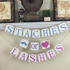 baby shower reveal ideas popular items for baby shower ideas on etsy staches or lashes