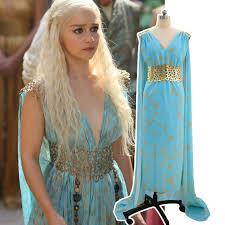 Game Thrones Halloween Costumes Khaleesi Aliexpress Buy Free Shipping Game Thrones Cosplay