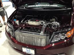 porsche bisimoto 1029 hp bisimoto 2014 honda odyssey hauls at 2013 sema show