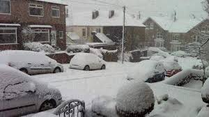 snow brings disruption to travellers across the uk news