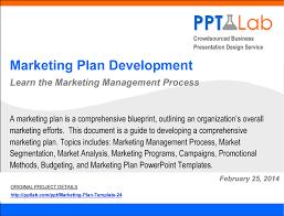 marketing plan development framework powerpoint