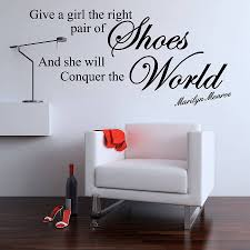 give a girl quote wall stickers by parkins interiors give a girl quote wall stickers