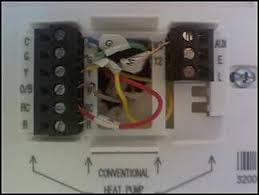 new thermostat wiring heat pump not kicking on