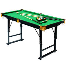 4ft pool table folding 1 2m height adjustable and folding american pool table biilard table