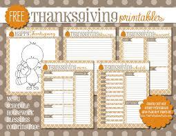 thanksgiving menu planning the polka dot posie freebies