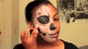 half halloween makeup halloween tutorial living dead half face makeup youtube