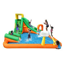 amazon com magic time titan falls with junior inflatable water