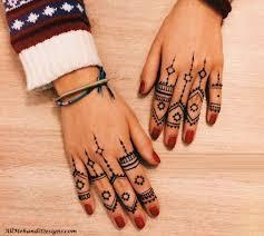 1000 easy finger mehndi designs henna finger ideas