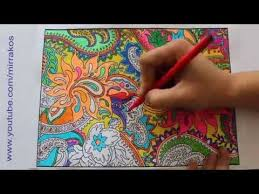 speed painting drawing time lapse complicated colouring for