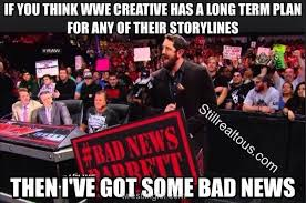 Bad News Barrett Meme - something to wrestle with freakin awesome network forums