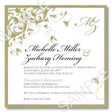 wedding invitation software wedding invitation outline with sle wedding invitations to