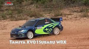 subaru rally wrx tamiya xv01 subaru wrx rally car at woodgrove offroad track youtube