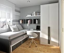 Bedroom  Home Decor Small  Bedroom Wooden Storage Bed - Clever storage ideas for small bedrooms