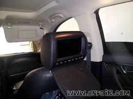 toyota highlander dvd headrest onfair customer photos of car headrest dvd monitor installations