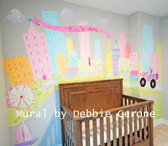 Whimsical Nursery Decor Chicago Artist Debbie Cerone Paints An Adorable Whimsical