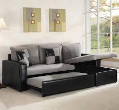 Sleeper Sofa Nyc Black Leather Sectional Sleeper Sofa Ansugallery Com