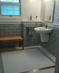 Bench For Bathroom by Bathroom Exciting Walker Zanger Tile Wall With Rain Shower And