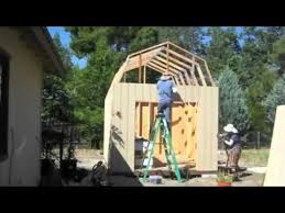 diy how to build a shed from scratch youtube