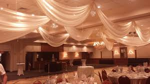 ceiling draping petruzellos ceiling draping linens and beyond
