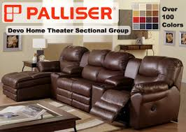 Palliser Sleeper Sofa Palliser Home Theater Sectional Sofa Sets