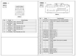 ford taurus radio wiring diagram u2013 schematics and wiring diagrams