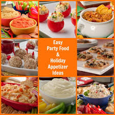 Easy Summer Entertaining Menu 16 Easy Party Food And Holiday Appetizer Ideas Mrfood Com