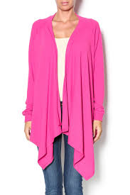 all for color pink waterfall cardigan from louisville by apricot