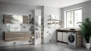 inventive new scavolini composition combines bathroom with laundry