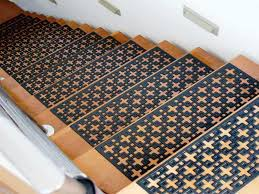 decor carpet stair treads and wood stair treads also rubber stair