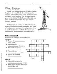 wind energy 2nd 3rd grade worksheet lesson planet