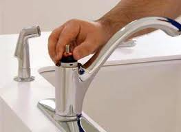 How To Repair Kitchen Faucet How To Fix A Leaky Kitchen Faucet With Two Handles Step By Step