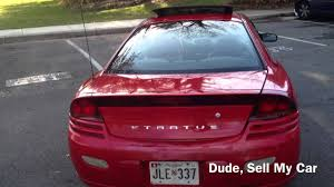 2001 dodge stratus coupe rt youtube