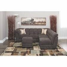Ashley Furniture Microfiber Sectional Sofas Center Pit Group Sofa Sectional Sofas Ashley Furniture