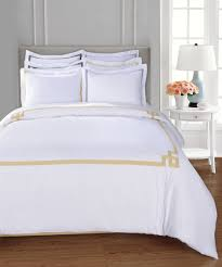 Duvet Cover Sets On Sale Superior Miller Embroidered Cotton Duvet Cover Set Bluefly Com