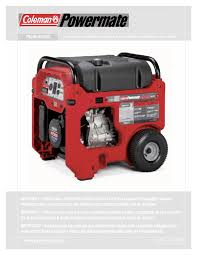 coleman stove manual portable generator users guides
