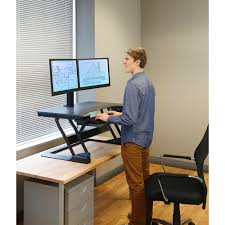 Standing Desk Ergotron Ergotron Workfit Tl Long Sit Stand Workstation Workfits