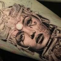 olio sunny of dark age tattoo studio in denton tx tattoo artist