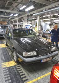 volvo sweden website our 850 volvo visits the swedish torslanda factory and is driven