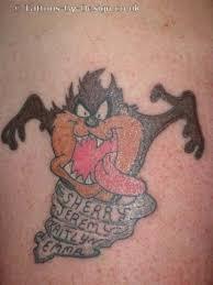 17 awesome tasmanian devil tattoos