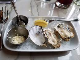 mignonette cuisine oysters with mignonette and horseradish picture of