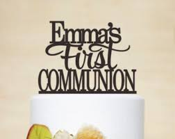communion cake toppers communion cake etsy