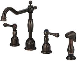 kitchen faucets rubbed bronze finish various amazing impressive rubbed bronze kitchen faucet and